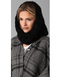 Juicy Couture - Kenyon Chunky Knit Snood - Lyst