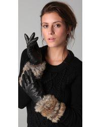 Marc By Marc Jacobs - Lee Lee Fur Glove - Lyst