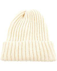 Peter Jensen - Rib Knit Hat - Lyst
