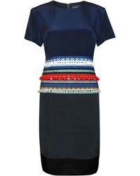 Lulu & Co Christopher Shannon Navaho Dress - Lyst