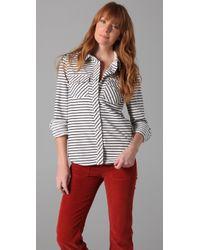 Textile Elizabeth and James Western Shirt - Lyst