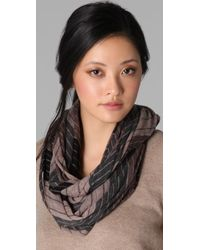 Vince - Multi Stripe Loop Scarf - Lyst