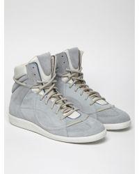 Maison Margiela 22 Mens High Top Sneaker - Lyst
