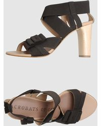 Acrobats Of God High Heeled Sandals - Lyst