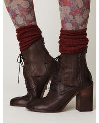 Free People Saffi Lace Boot - Lyst