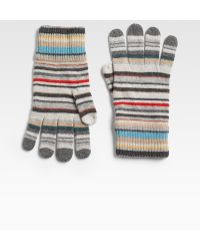 Paul Smith - Striped Gloves - Lyst