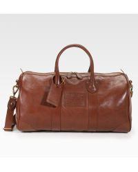 Ralph Lauren - Leather Duffle - Lyst