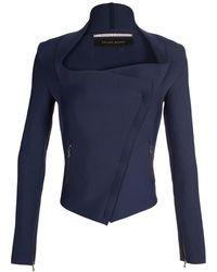 Roland Mouret Cadwaller Scuba Jersey Jacket - Lyst
