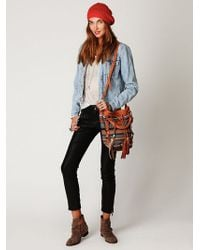 Free People Rocker Vegan Leather Pant - Lyst