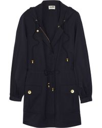 Alice By Temperley - Birley Hooded Twill Coat - Lyst