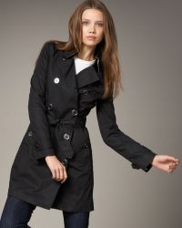 Burberry Brit - Balmoral Coat - Lyst