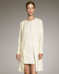 Rochas Lace Coat - Lyst