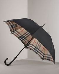 Burberry Check-lined Umbrella - Lyst