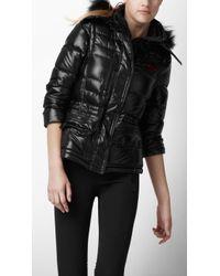 Burberry Sport - Fur Trim Ski Jacket - Lyst