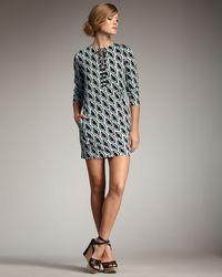 Diane von Furstenberg Nana Petal-print Dress - Lyst