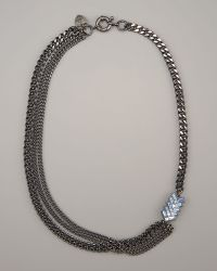 Giles & Brother - Multi-chain Chevron Necklace - Lyst