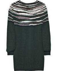 M Missoni Wool-blend Striped Sweater - Lyst