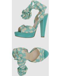 Blugirl Blumarine  Platform Sandals - Lyst