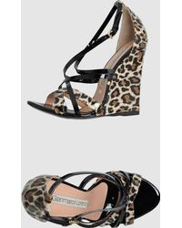Gianmarco Lorenzi Wedge - Lyst