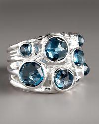 Ippolita London Blue Topaz Ring blue - Lyst
