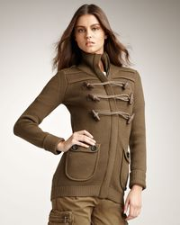 Burberry Brit - Toggle-front Cardigan - Lyst