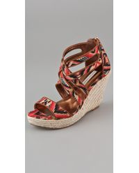Twelfth Street Cynthia Vincent Juno Wedge Sandals - Lyst