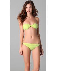 Brette Sandler Swimwear | Allison Bandeau Bikini | Lyst