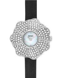 Badgley Mischka   Flower Watch   Lyst