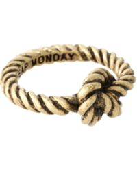 Cheap Monday - Exclusive To Asos Knot Ring - Lyst