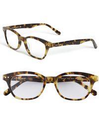Kate Spade 'Rebecca' 49Mm Reading Glasses - Tokyo Tortoise - Lyst