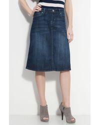 Kut From The Kloth | 5-pocket Denim Skirt | Lyst