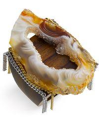 Liz Larios Jewelry Natural Ochoco Agate Ring - Lyst
