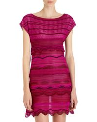 Missoni Ruffle Mini Dress - Lyst
