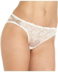 Nina Ricci Dotted Slip Brief white - Lyst