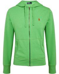 Polo Ralph Lauren Hooded Sweatshirt - Lyst