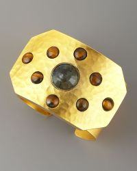 Stephanie Anne | Rejoice Multi-stone Cuff, Labradorite | Lyst