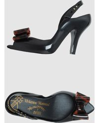 Vivienne Westwood Anglomania Melissa Pumps With Open Toe - Lyst