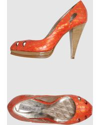 Aldo Brue' Pumps with Open Toe - Lyst