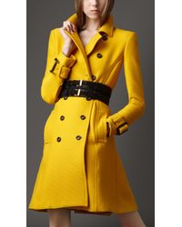 Burberry Soft Textured Trench Coat - Lyst