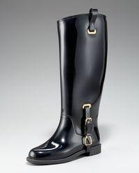 Ralph Lauren Collection - Odette Rubber Rain Boot - Lyst