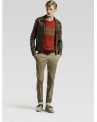 Gucci Vintage Leather Jacket - Lyst