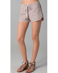 Rory Beca Crissa Lace Running Shorts - Lyst