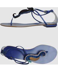 Etro Flip Flops - Lyst