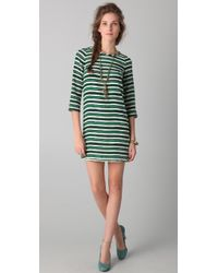 Peter Som - Hand Painted Stripe Dress - Lyst