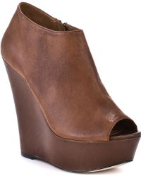 Steve Madden Wiicked - Cognac Leather - Lyst