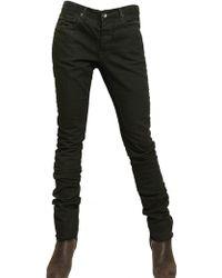 Rick Owens Slim Unwash Denim Jeans - Lyst