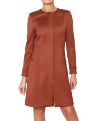 Space - Felted Wool Coat - Lyst