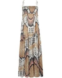 AllSaints Ikat Maxi Dress - Lyst