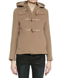 Harnold Brook - Hooded Felted Wool Jacket - Lyst