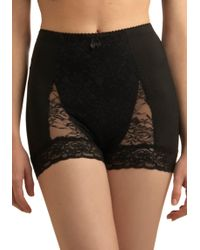 ModCloth - Bold Hollywood Knickers in Black - Lyst